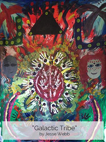 Galactic Tribe by Jesse Webb