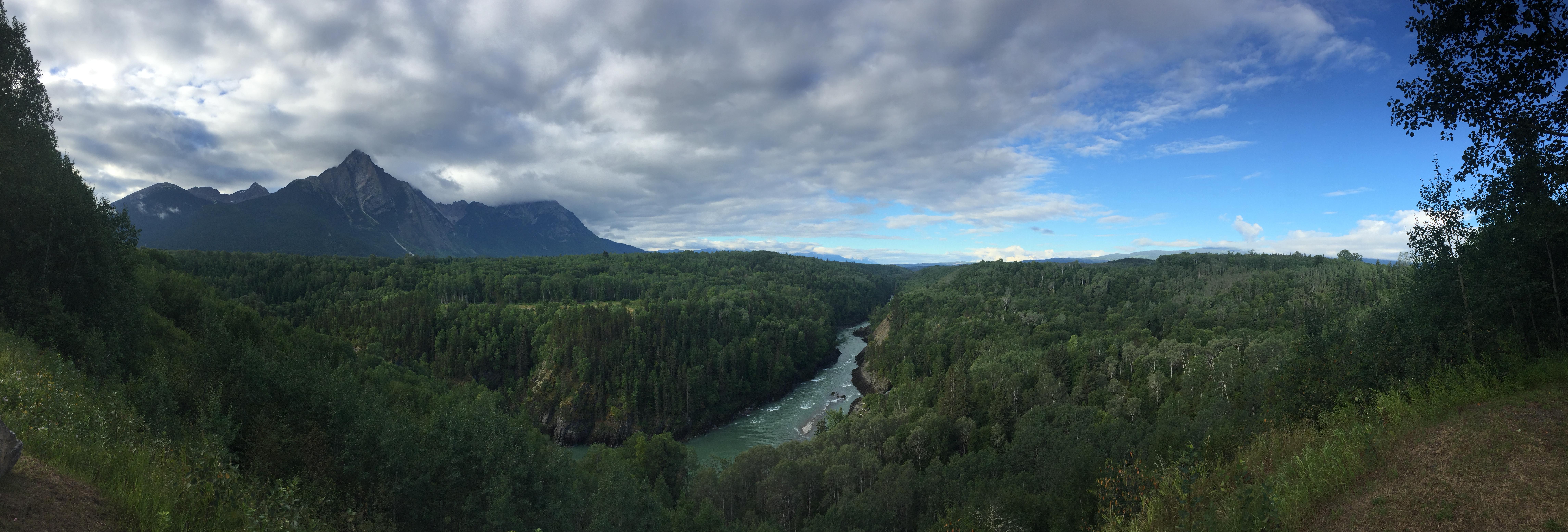 Stekyoden Mountain, aka Roche de Boule, Hazelton BC