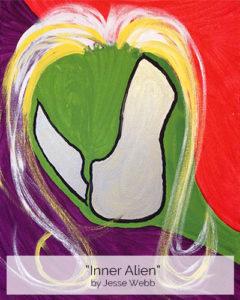Inner Alien by Jesse Webb