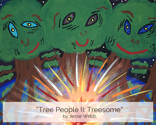 Tree People II, Treesome by Jesse Webb